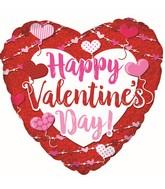 "9"" Happy Valentine's Day Big Type Balloon"