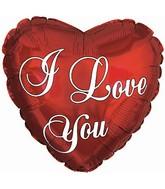 "4"" Airfill I Love You Plain M94"