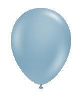 "24"" Blue Slate Latex Balloons 5 Count Brand Tuftex"