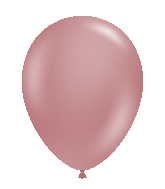 "24"" Canyon Rose Latex Balloons 5 Count"
