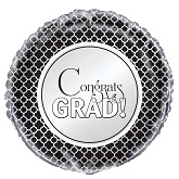 "18"" Packaged Congrats Grad Balloon"