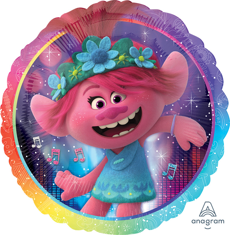 "18"" Trolls World Tour Foil Balloon"