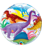 "22"" Colorful Dinosaurs Bubble Balloon"