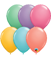 "5"" Candy Assorted Latex Balloons (100 Per Bag)"