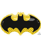 "30"" Batman SuperShape Foil Balloon"
