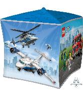 """15"""" Lego City UltraShape Cubez Foil Balloon"""