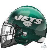 "21"" New York Jets Helmet SuperShape Foil Balloon"