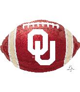 """17"""" University of Oklahoma Foil Balloon"""
