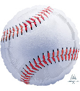 "28"" Championship Baseball Jumbo Foil Balloon"