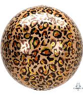 "16"" Orbz Leopard Print Foil Balloon"