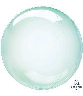 """18"""" Crystal Clearz™ Green Balloon"""