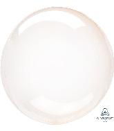 "11"" Crystal Clearz™ Petite Orange Crystal Clearz™ Balloon"