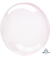 """11"""" Crystal Clearz™ Petite Pink Crystal Clearz™ Balloon"""