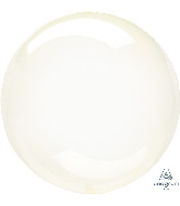 """11"""" Crystal Clearz™ Petite Yellow Crystal Clearz™ Balloon"""