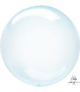 "11"" Crystal Clearz™ Petite Blue Crystal Clearz™ Balloon"