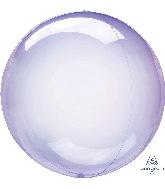 "11"" Crystal Clearz™ Petite Purple Crystal Clearz™ Balloon"