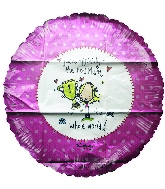 """18"""" Number 1 Mum Foil Balloon"""