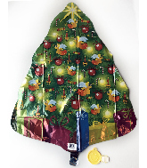 "29"" Christmas Tree Foil Balloon"