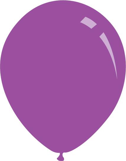 "5"" Standard Lavender Decomex Latex Balloons (100 Per Bag)"
