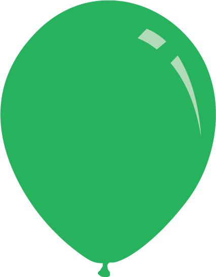 """5"""" Standard Green Decomex Latex Balloons (100 Per Bag)"""