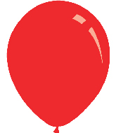 "12"" Standard Red Decomex Latex Balloons (100 Per Bag)"