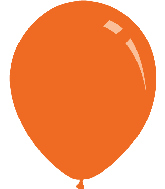 "5"" Standard Orange Decomex Latex Balloons (100 Per Bag)"