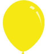 "18"" Standard Yellow Decomex Latex Balloons (25 Per Bag)"