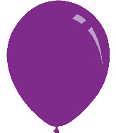 "9"" Standard Purple Decomex Latex Balloons (100 Per Bag)"