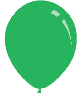 "12"" Standard Green Decomex Latex Balloons (100 Per Bag)"
