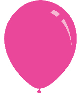 "12"" Pastel Fuchsia Decomex Latex Balloons (100 Per Bag)"