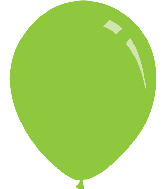 "5"" Pastel Lime Green Decomex Latex Balloons (100 Per Bag)"