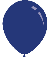 "5"" Pastel Navy Blue Decomex Latex Balloons (100 Per Bag)"