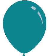 "5"" Pastel Turquoise Decomex Latex Balloons (100 Per Bag)"