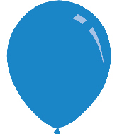 "5"" Pastel Royal Blue Decomex Latex Balloons (100 Per Bag)"
