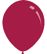 "12"" Metallic Magenta Decomex Latex Balloons (100 Per Bag)"