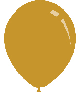 "5"" Metallic Gold Decomex Latex Balloons (100 Per Bag)"