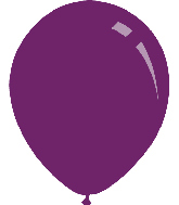 "5"" Metallic Purple Decomex Latex Balloons (100 Per Bag)"