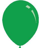 "5"" Metallic Green Decomex Latex Balloons (100 Per Bag)"