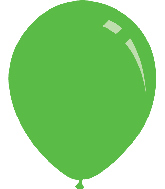 "5"" Metallic Light Green Decomex Latex Balloons (100 Per Bag)"