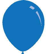"5"" Metallic Blue Decomex Latex Balloons (100 Per Bag)"