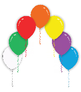 "12"" Assorted Colors Decomex Latex Balloons (100 Per Bag)"