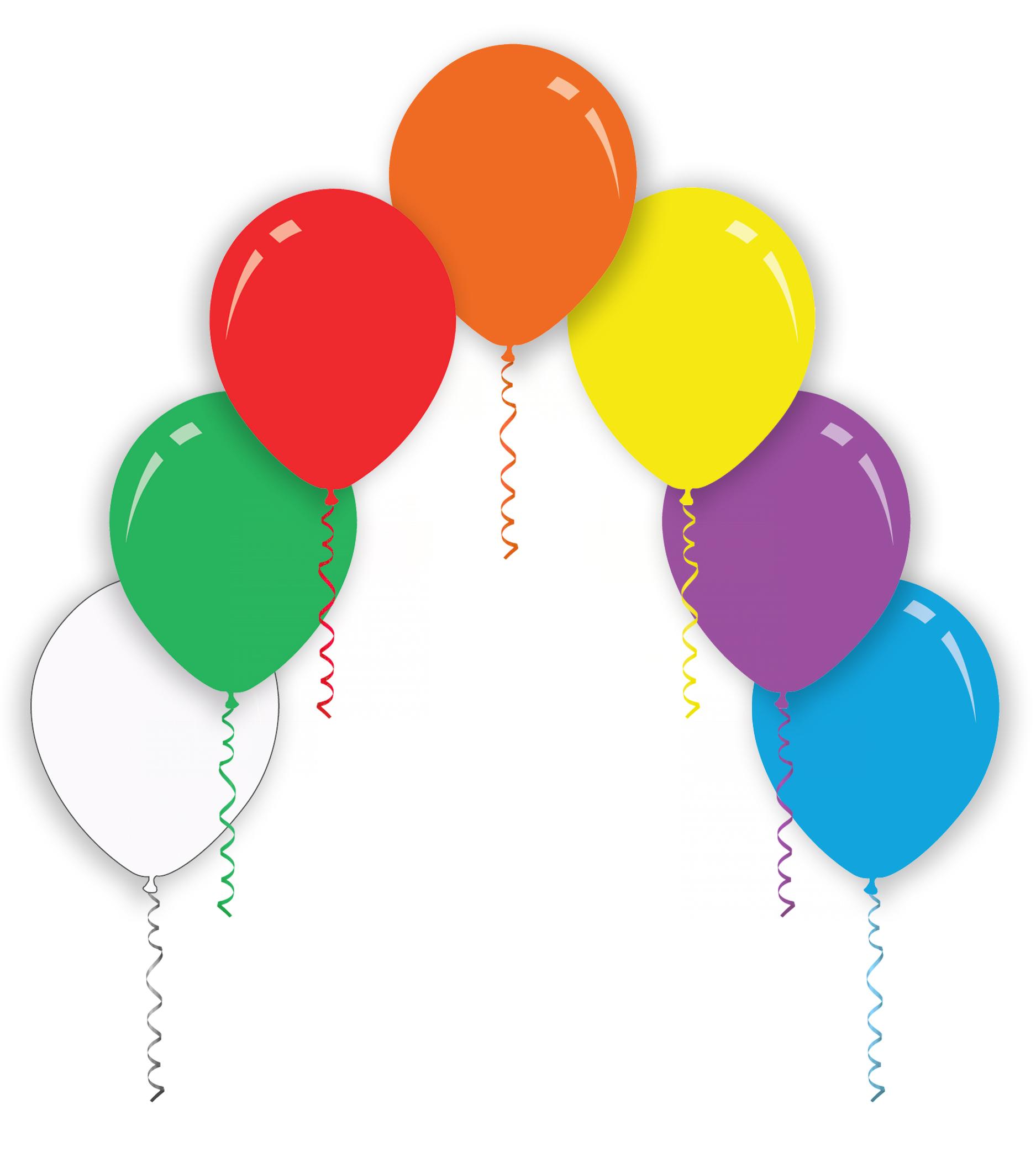"""26"""" Assorted Colors Decomex Latex Balloons (10 Per Bag)"""