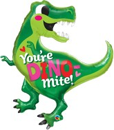 "42"" You're Dino-Mite Foil Balloon"
