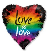 "18"" Love is Love Foil Balloon"