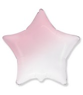 "18"" Star Baby Gradient Pink Foil Balloon"