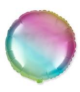 """18"""" Round Gradient Pastel Foil Balloon"""