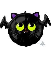 """20"""" Batcat Foil Balloon"""