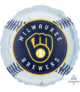 "18"" Milwaukee Brewers Foil Balloon"