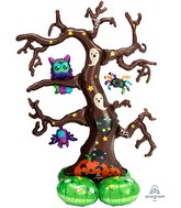Airfill Only Airloonz Consumer Inflatable Creepy Tree Foil Balloon