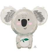 "28"" SuperShape Koala Bear Foil Balloon"